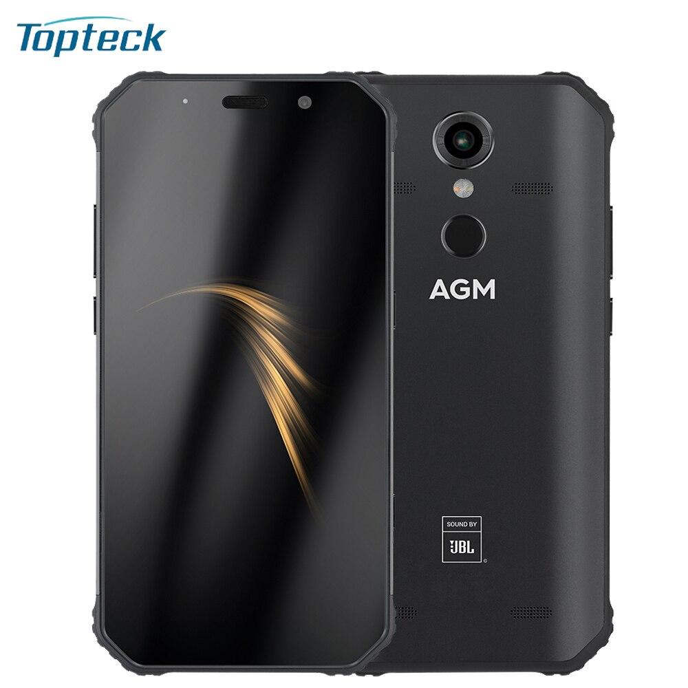 AGM A9 5400mAh 3 4GB 32 64GB Rugged Mobile Phone IP68 Waterproof 5 99inch 18 9