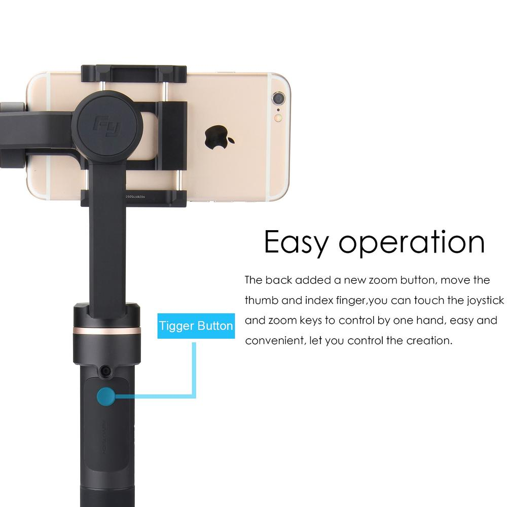 FeiyuTech SPG C 3-Axis Stabilized Handheld Gimbal Support Panorama Photography Vertical&Horizontal Shooting for Smartphones