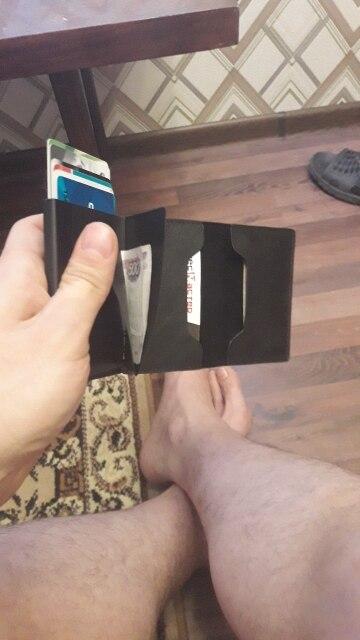 Nieuwe kaart Portemonnee Heren Vintage Creditcardhouder Blokkering Rfid Portemonnee Leren Unisex Beveiligingsinformatie Paspoort Portemonnee Portemonnee photo review