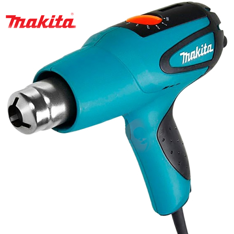 Technical Hairdryer Makita HG551V vacuum suction magic abs hair hairdryer storage rack