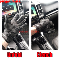Hot sale! Furygan AFS 6 Gloves Motorcycle Leather Moto GP BMX Gloves Downhill Mountain Biking Cycling Running Gloves gg