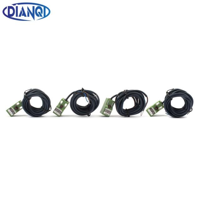 DIANQI Inductive Proximity Sensor SN04-N SN04-N2 SN04-P SN04-P2 DC NPN PNP NO NC 4MM DC 6-36V Proximity Switch sensor SN04
