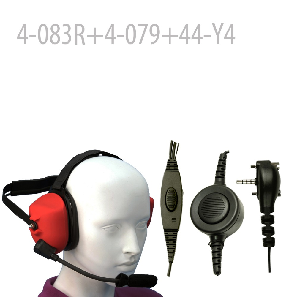 Heavy duty Noise Headset (R) +Mini Din Plug 44-Y4 for VX130 VX131 VX160 VX-168 VX180 VX210 VX210A VX-231 VX-350  VX410 VX420Heavy duty Noise Headset (R) +Mini Din Plug 44-Y4 for VX130 VX131 VX160 VX-168 VX180 VX210 VX210A VX-231 VX-350  VX410 VX420