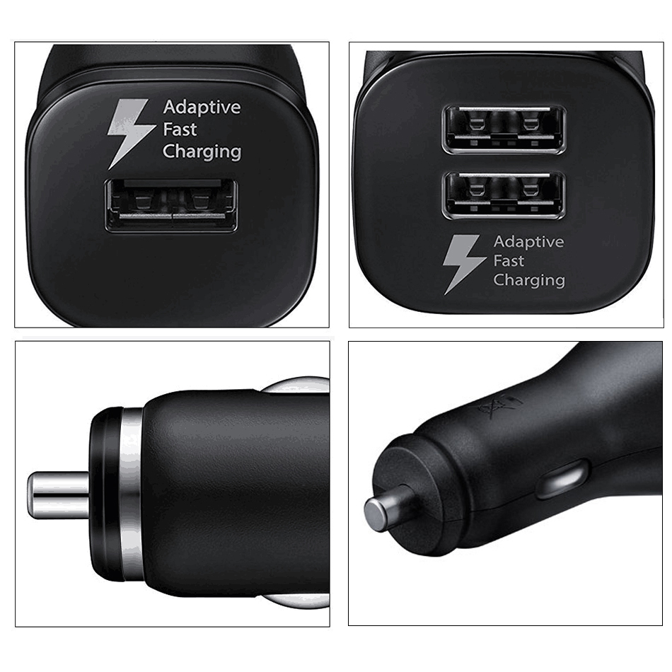 3Samsung S7 S6 edge Fast Car Charger 1.5m Micro USB Cable Cable 2USB 15W 9V1.67A Quick Adapter Note2 Note4 Note5 note edge