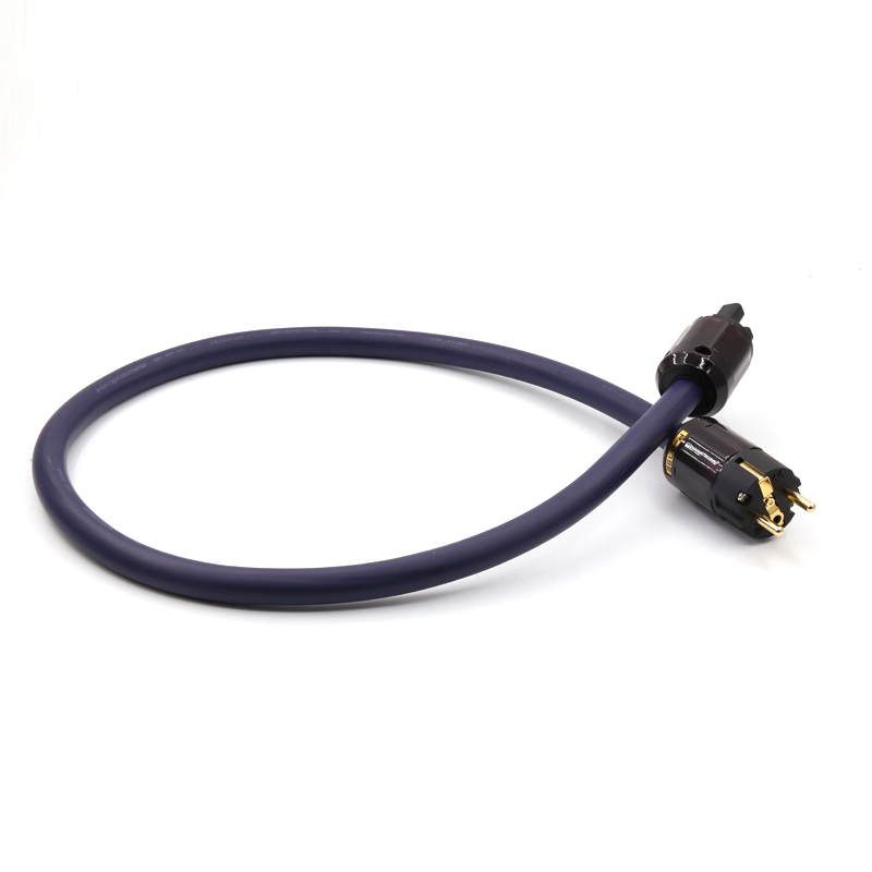 цена на Free shipping FP-3TS762 alpha-OFC Power Cable with Oyaide P-079E/C-079 EU version connector plug