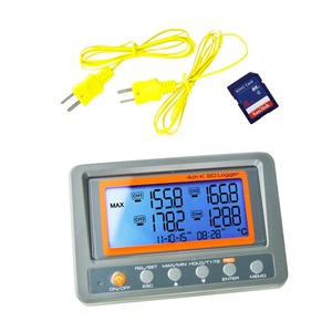 Image 2 - 4 Channel  328~2498 degree C/F K Type Thermocouple 8GB SD Card Temperature Wallmount Thermometer Logger