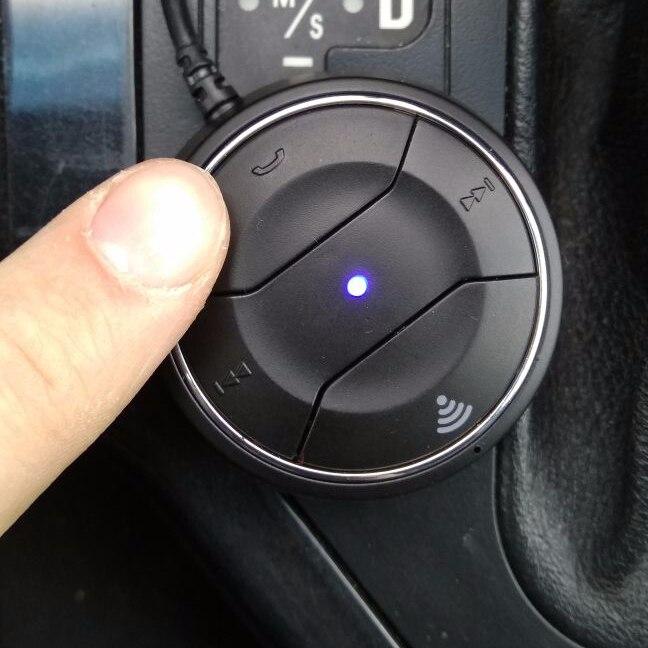 NFC Bluetooth Car Kit 3.5 мм AUX аудиоприемник с микрофоном с Алиэкспресс
