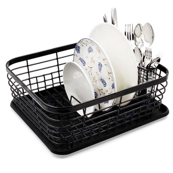 Кухонная сушилка для посуды Сушилка сушилка из нержавеющей стали домашнее хранилище корзина Стиральная кухонная сушилка для посуды держат...
