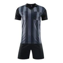c849867033 Profissional Das Mulheres Dos Homens de Futebol Conjuntos Uniformes de  Futebol Esporte Árbitro Juiz Jerseys Camisas Short Terno .