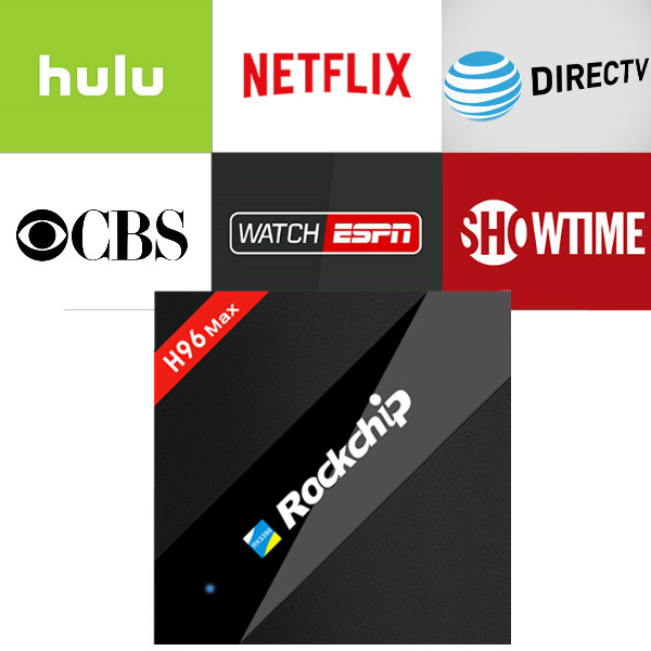 H96 Max Android IPTV Box with 1 year Netflix/HULU/Directv/CBS account  warranty work in Set top box Smarttv smartPhone-in Set-top Boxes from  Consumer Electronics - blackpink wanna one New