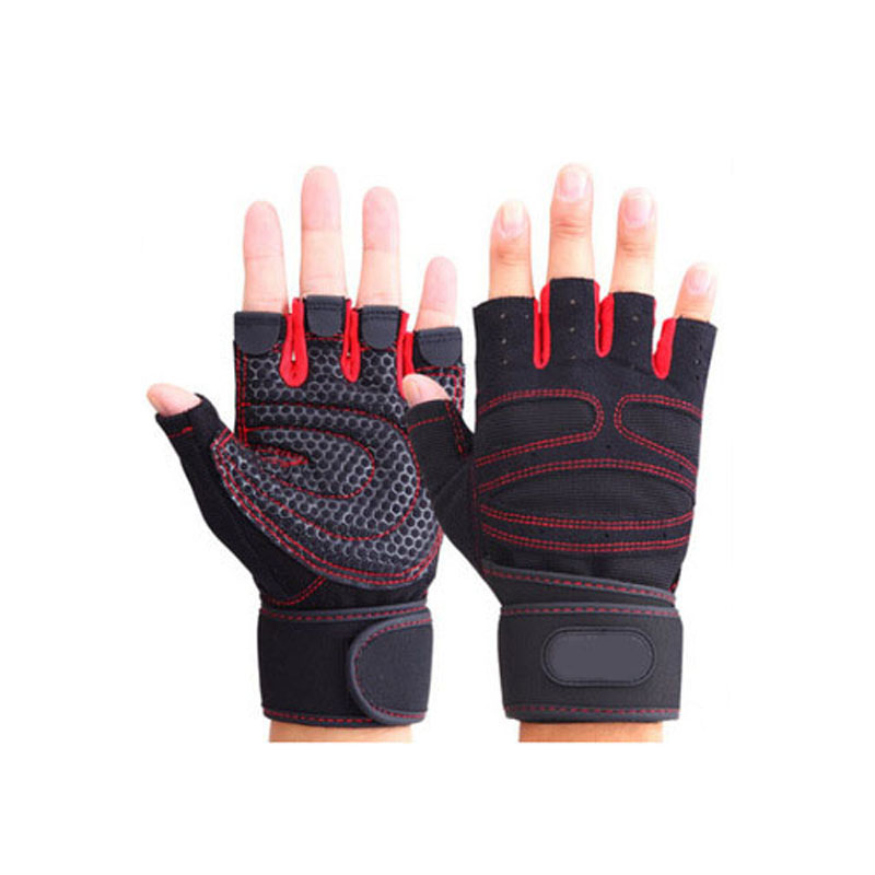Half Finger Gym Gloves  1