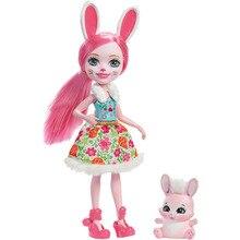 Кукла-кролик Enchantimals Бри Банни
