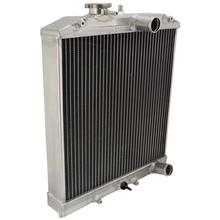 2 ряда 28 мм в/из трубы алюминиевый радиатор 92-00 для Honda Для Civic EK EG D15 D16 B16 B18