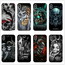 Grim Reaper Skull Skeleton Silicone Soft Case for iPhone XS Max XR X 8 7 6 6S Plus 5 11 11PRO MAX SE