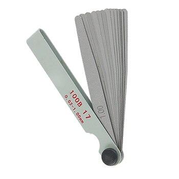 Щуп UXCELL, измерительный прибор 17 в 1, измеритель толщины 0,02-1 мм