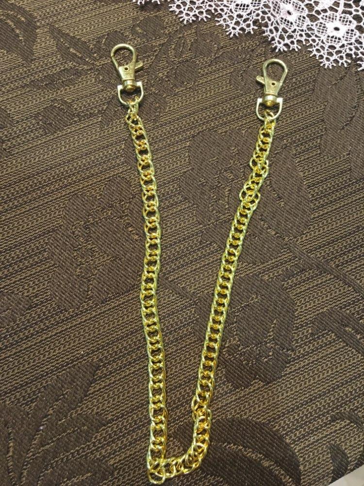 THINKTHENDO Long 120cm/60cm/40cm Luxury Fashion Metal Purse Chain Straps Handle Shoulder Bag Cross Body Replacement Handbag photo review