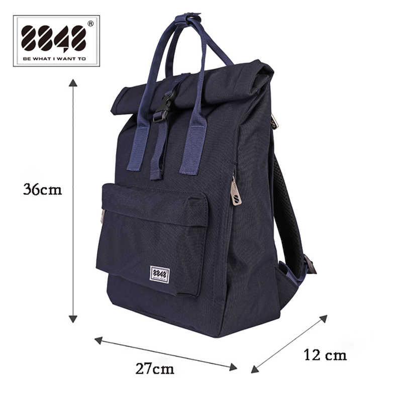 New Girls Canvas Backpack Women Laptop Backpack Double Zipper Backpack Large Capacity School Bags Backpack for teens 030-041-008