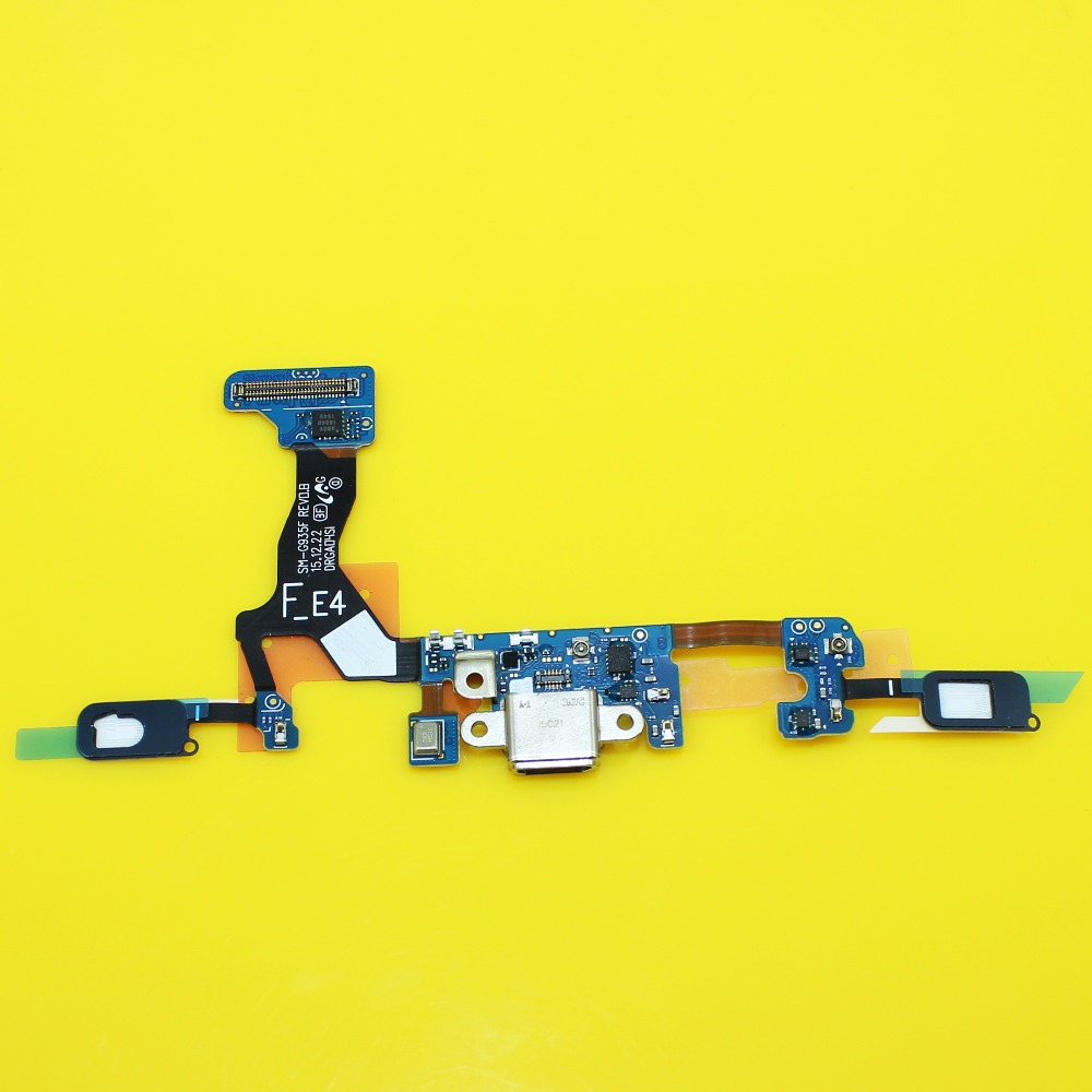 Jing Cheng Da 1pcs Flex Cable Repair For Samsung Galaxy S7 Edge G935F USB Dock Charging Charger Port Microphone Module Ribbon