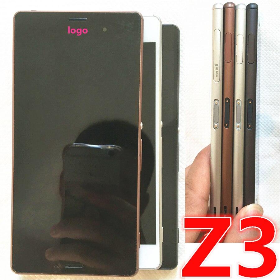 Original For Sony Xperia Z3 D6603 D6653 D6633 Dual Top Ear Speaker Back Cover Tutup Battre Untuk Layar Asli 1920x1080 52 Lcd Tampilan