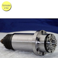 ATC spindle BT30 Spindle CNC Milling Rounter Electric Spindle Motor 220V with Synchronous Belt for BT30 Spring + Drawbar