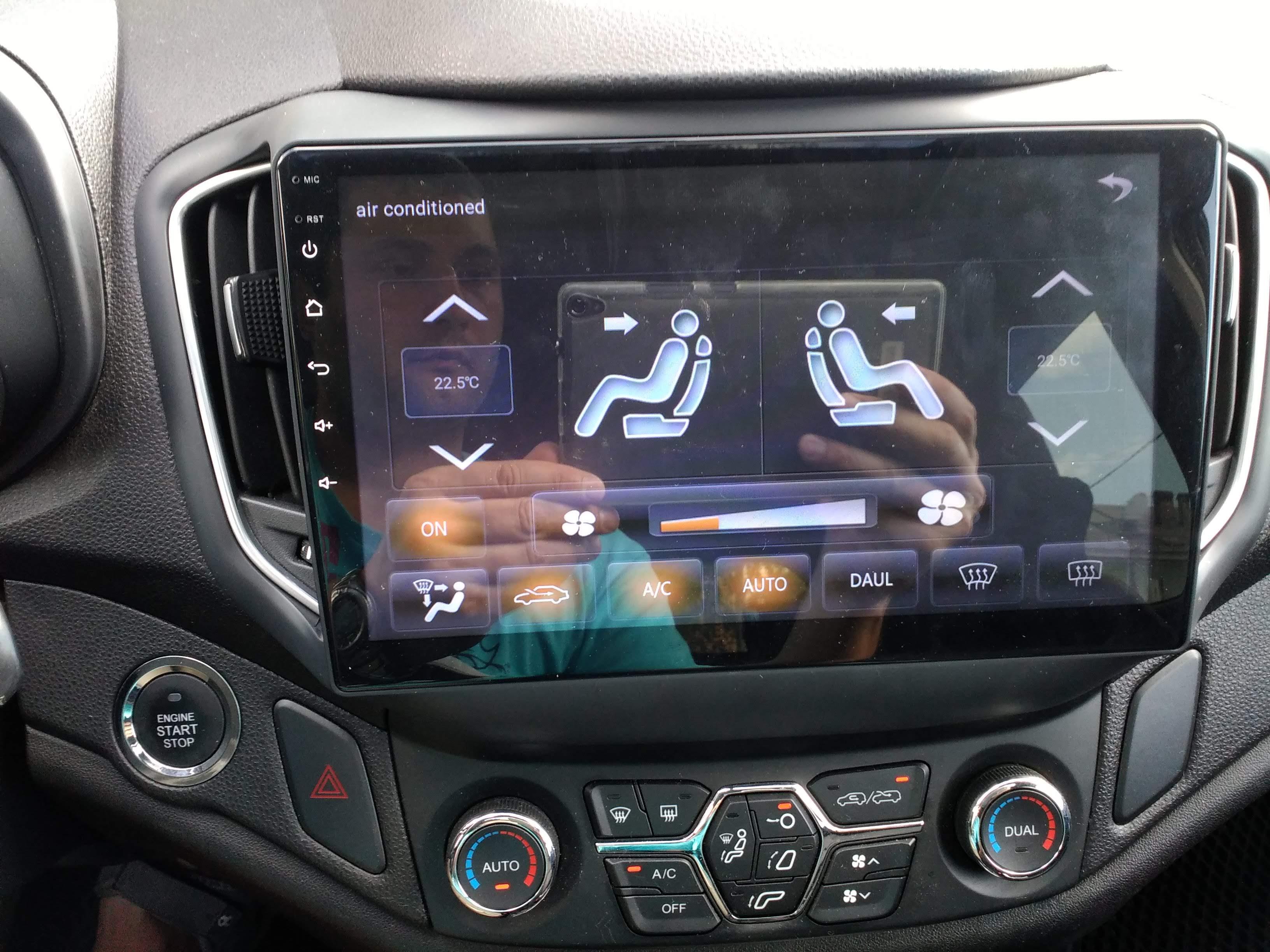Reprodutor multimídia automotivo Central Navegação Android