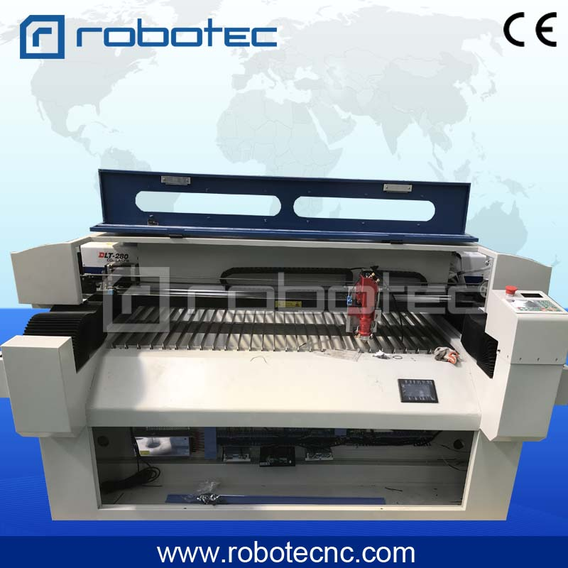 Robotec Laser Machine For Promotion! 1325 Sheet Metal Laser Cutting Amchine With Yongli Laser Tube High Power