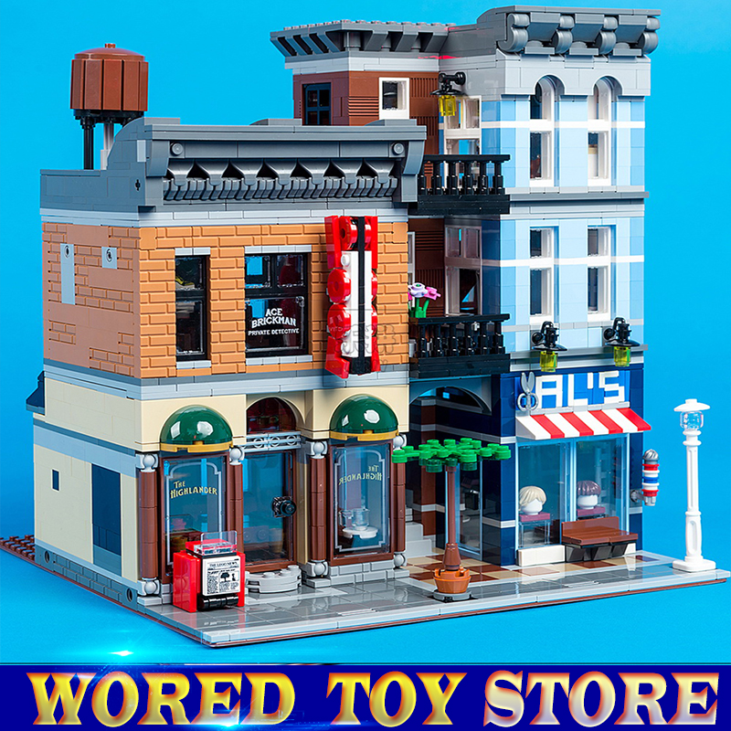 Lepin 15011 Building Series The Detective's Office Set Avengers Set Assemble Building Blocks Educational legoed Toys 10197 new lepin 16009 1151pcs queen anne s revenge pirates of the caribbean building blocks set compatible legoed with 4195 children