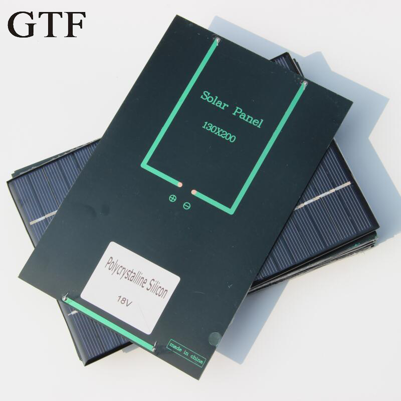 GTF solar panel solar power panel DIY solar system module for light battery mobile phone toy charger portable