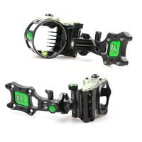 Field Logic IQ Bowsights Micro 5 & 7 Pin Compound Bow Archery Sight with Retina Lock Technology Right Hand