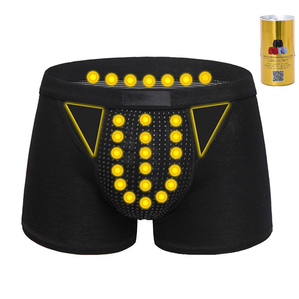 Caleçon sous-vêtements masculins 3 couleurs physiothérapie aimant de santé sous-vêtements sous-vêtements magnétiques en coton caleçon