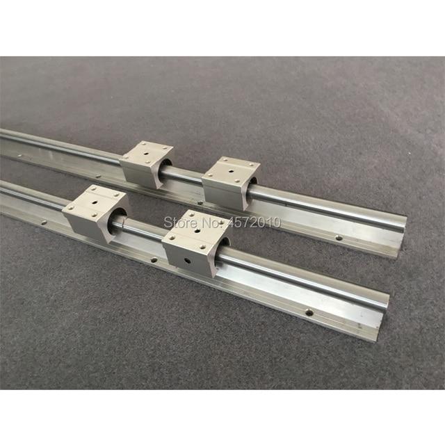 6 juegos de riel de guía lineal SBR20 SBR20-400/1500/1500mm + tornillo de bola SFU1605-450/1550/1550mm + BK12 BF12 + piezas de carcasa de tuerca cnc