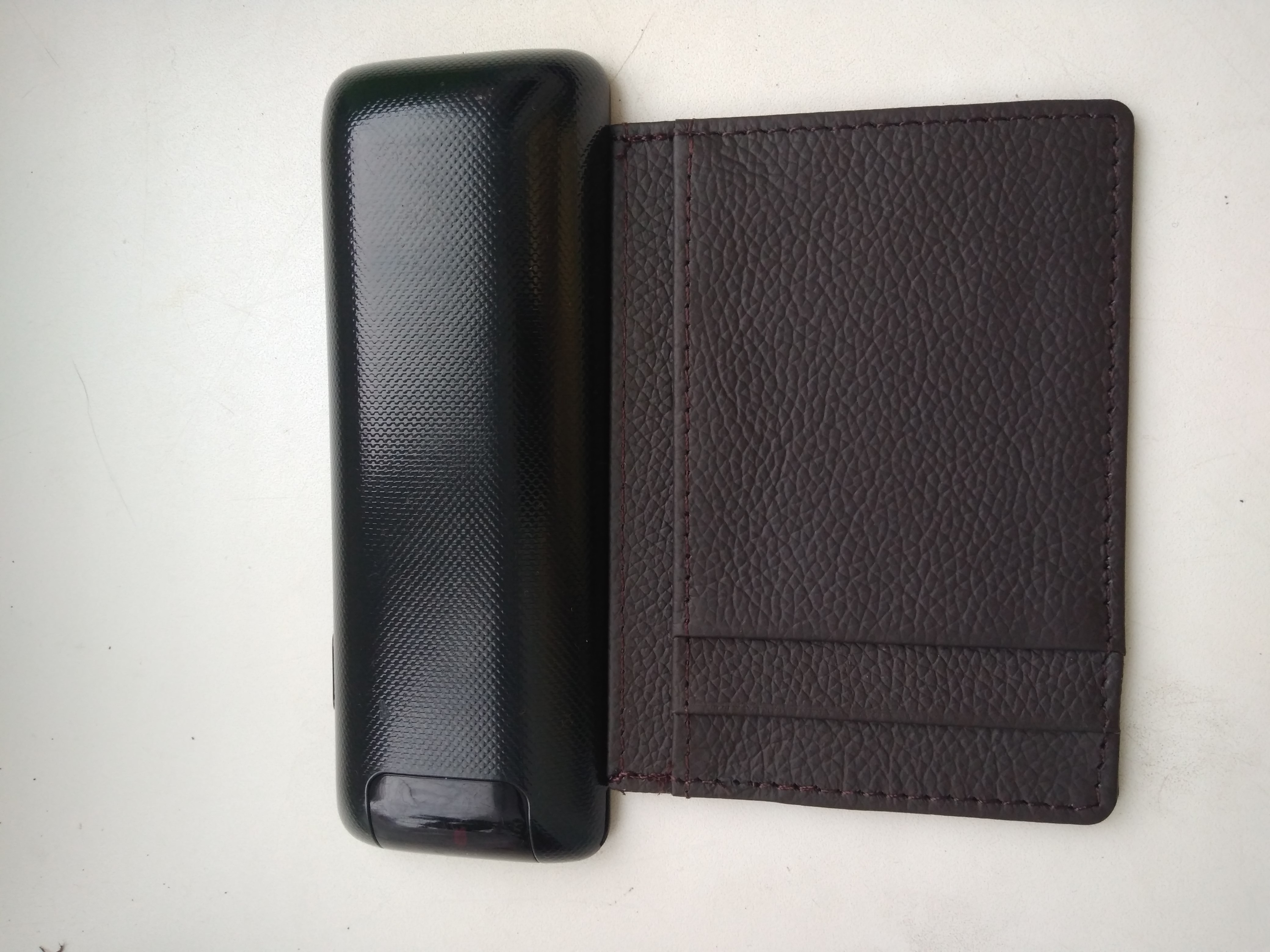 genuine leather men bank card holder High quality cowhide business magic slim wallets fashion designer retail and wholesale ! photo review