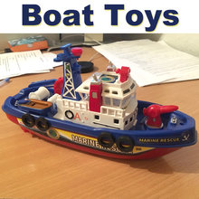 Rescate marítimo contra incendios Barco de la policía modelo de juguete de  baño de aprendizaje eléctrica música creativa de agua. 2d01c630a8b