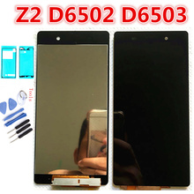 5.2 LCD For SONY Xperia Z2 LCD Display Touch Screen Digitizer For SONY Xperia Z2 LCD D6502 D6503 D6543 LCD Digitizer Sensor full lcd display monitor touch screen panel digitizer sensor assembly for sony tablet z2 xperia sgp511 sgp512 sgp521 sgp541