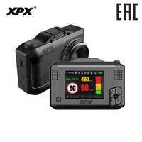 XPX G575-STR Car dvr Dash cam Car dvr 3 in 1 Radar detetor GPS Ambarella A12 SFull HD 1296P Signature signal Dash camera Car cam