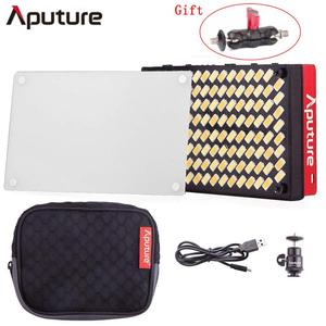 Aputure AL-MX Pocket Sized LED Video Light Color Temperature 2800-6500k TLCI CRI 95+ Bi-Color On Camera Fill Light(China)