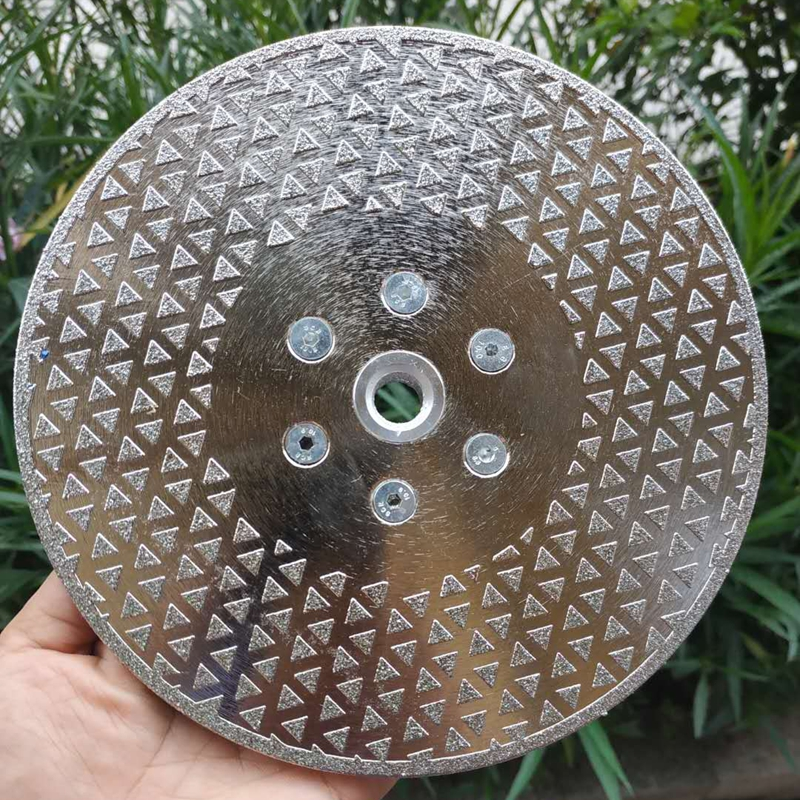 Electroplated Diamond Cutting & Grinding Blade Both Side Coated Diamond Disc Marble Cutting Disc Granite Sawblade