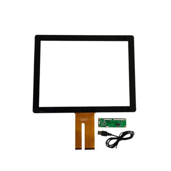 For 15inch 346*270mm multi touch G+G Digitizer Touch Screen Panel Capacitive Sensor  + USB EETI control card Replacement