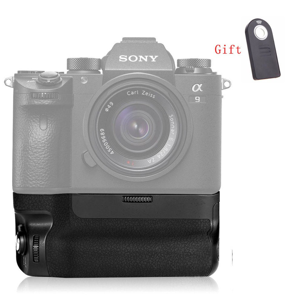 Meike MK-A9 Battery Grip Control Shooting Vertical-shooting Function For Sony A7 III A9 A73 A7M3 A7RIII A7R3 Camera As VG-C3EM