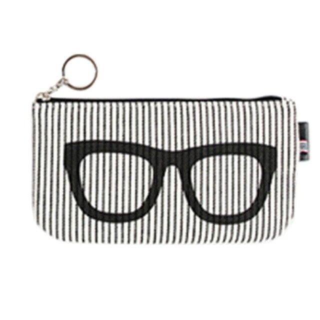 382295f8107b Women Men Glasses Box Sunglasses Bag Eyeglasses Case