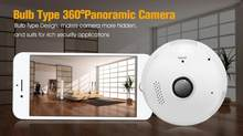 960P Fisheye Bulb lamp Camera LED Light Wireless Panoramic Home Security WiFi CCTV 360 Degree Two Ways Audio camera(China)