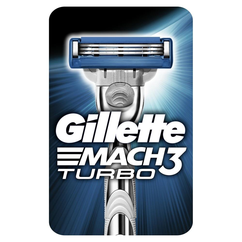 Razor Gillette Mach 3 Turbo Shaver Razors mak3 shaving  Machine for shaving mach3