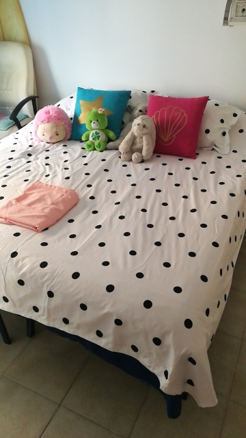 Cotton Bed Sheet Set Kid | Queen King Super King photo review
