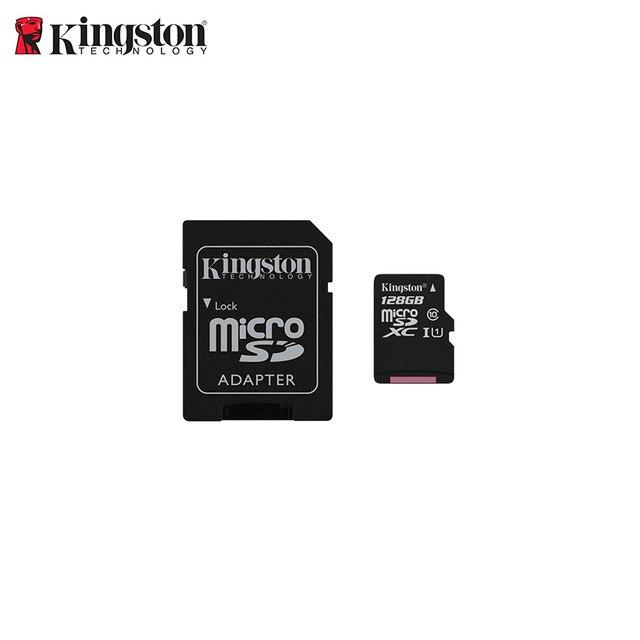 Карта памяти microSDXC KingstonSDC10G2/128 ГБ