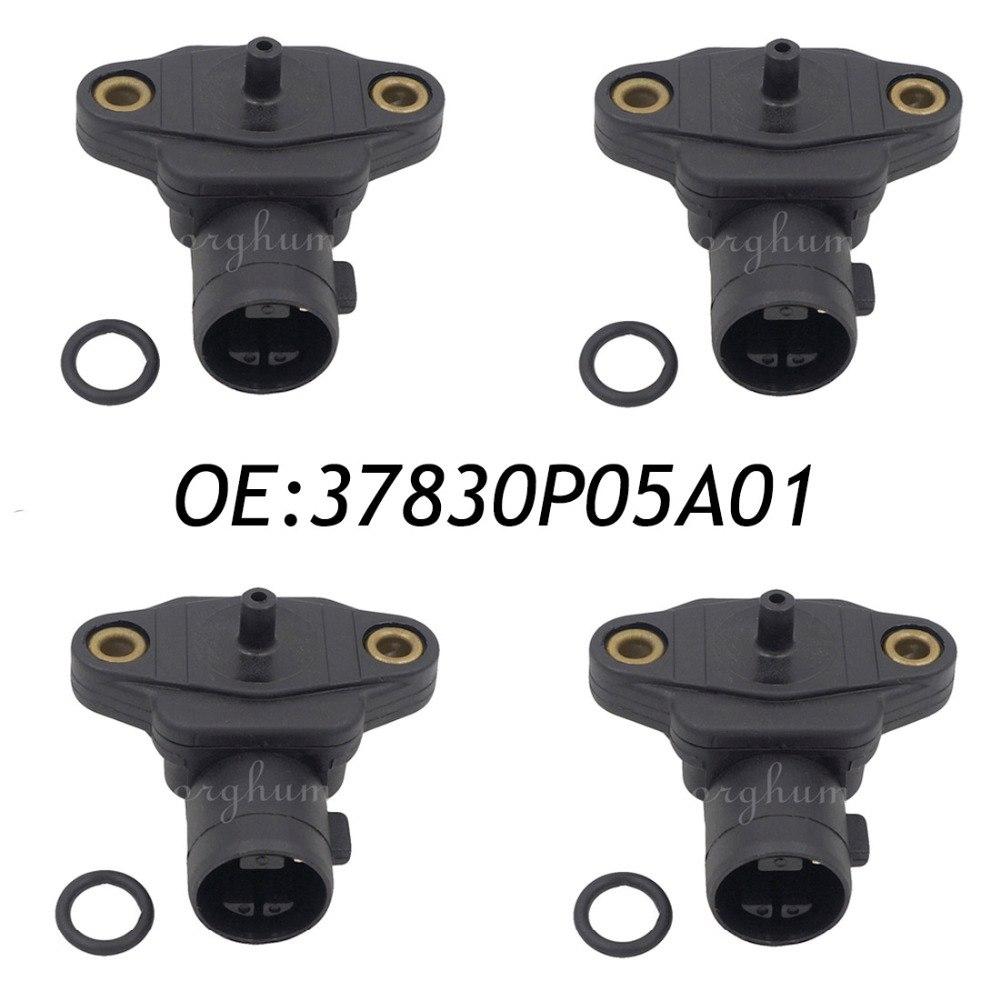 4 pièces 37830P05A01 CARTE Collecteur D'air Capteur de Pression Absolue Pour Acura Honda Isuzu 37830PAAS00