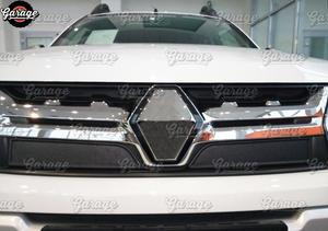 Image 2 - Winter Caps Voor Renault Duster 2015 2018 Op Radiator Grill Abs Plastic Guard Accessoires Cover Beschermende Auto Styling Tuning