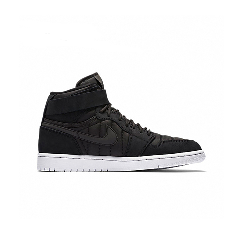 NIKE Original AIR JORDAN 1 HIGH STRAP AJ1 Mens Skateboarding Shoes Breathable Waterproof Lightweight Sneakers For Men Shoes