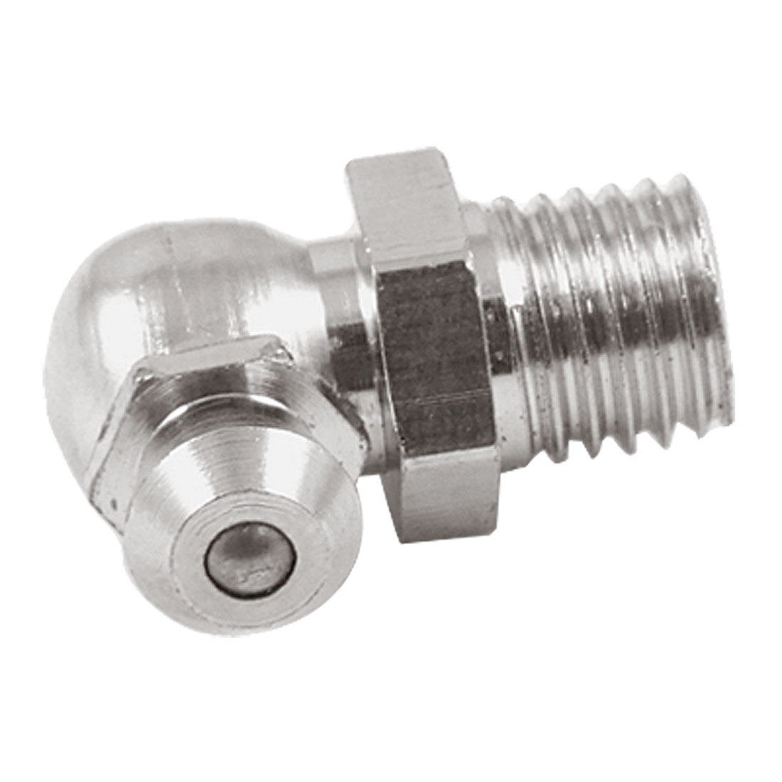 X Autohaux 8Mm M8 Male Thread 90 Degree Angle Grease Nipple Zerk Fitting