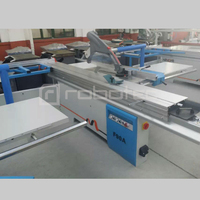 Woodworking Machinery 3000mm Pneumatic Pressure Feeder Pneumatic Clamp 0 45 Degree MJ6130 45p Table Saw Sliding Table Saw
