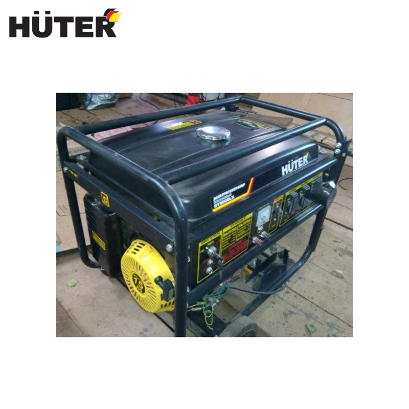 Electric generator Huter DY9500LX Power home appliances Backup source during power outages Benzine power stations generator huter ht950a